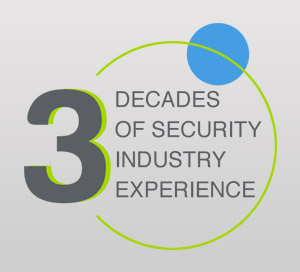 3 Decades of Security Industry Experience