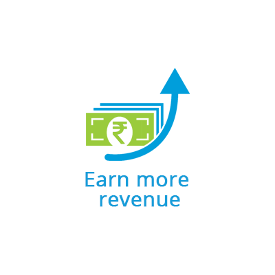 Earn more revenue